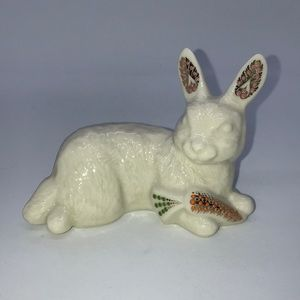 1996 Lenox China Jewels Collection Bunny Figure